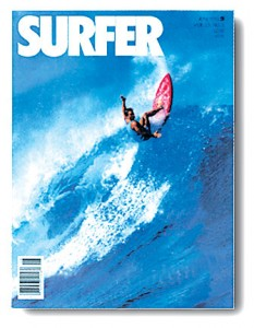 Tommy Castleton on the Cover of Surfer Magazine