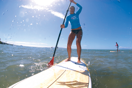 Stand Up Paddle Lessons in Maui, Hawaii